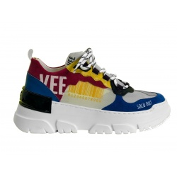 EMANUELLE VEE 011D SNEAKERS MULTICOLOR