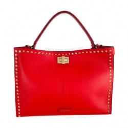 Bolso shopper rojo LA CARRIE
